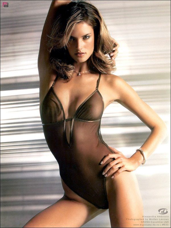Something is. alessandra ambrosio see through lingerie excellent