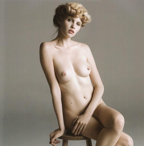 Nude lara stone